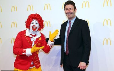 "McDonald's Sacks CEO Over ""Consensus Relationship"" with Employee"