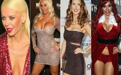 Check Out 10 Of The Most Shockingly Nasty Celebrity Breast Implants