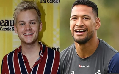 Comedian Joel Creasey Issued A Public Challenge To Embattled Footballer Israel Folau