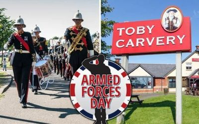 Toby Carvery Providing Free Meals To Anyone In The Armed Forces