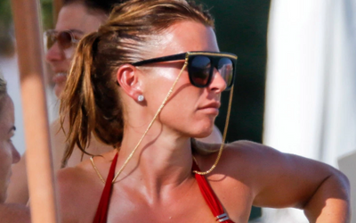 Coleen Rooney Looks Incredible In A Bikini Top And Matching Bottoms For Her Girls Trip To The Spanish Island