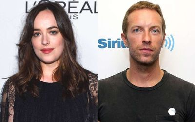 Chris Martin and Girlfriend Dakota Johnson Enjoys a Date Night at N.Y.C Fundraiser