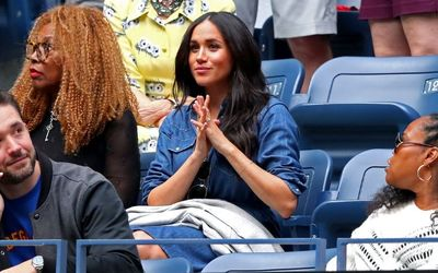 Meghan Markle Looks Daring In Denim As She Supports Her BFF Serena Williams At The US Open