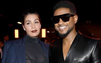 Usher and His Girlfriend Jenn Goicoechea Announced Their Child's Name.