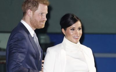Meghan Markle Showcased Another Radiant Evening Gown at 'The Wider Earth' Gala Performance