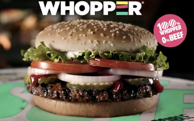 Burger King Officially Launches a Vegan Whooper