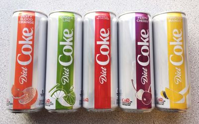 The New Flavor Of Diet Coke Is A 'Fruity' Addition To Your Fridge