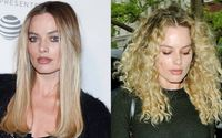 Margot Robbie Looks Unrecognizable With Voluminous Curly Hair