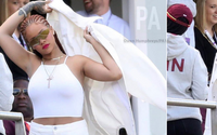 Rihanna Made A Surprise Appearance In The North-East Of England To Cheer On The West Indies At The Cricket World Cup