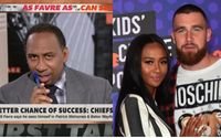 Stephen A. Smith Is A Massive Fan Of Travis Kelce's Girlfriend Kayla Nicole