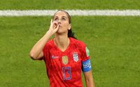 Alex Morgan's Tea Sipping World Cup Celebration Is Just Brilliant!
