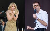 Pop Star Kylie Minogue And Indie Rockers The Vaccines Have Formed An Unlikely Pairing