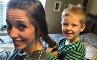 Fans Go WTF After Jill Duggar Let Her Son Israel Eat Gum He Pulled Out Of Her Hair