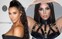 Kim Kardashian Looks Unrecognizable In New '90s Inspired Makeup Launch!