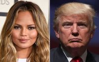 "Chrissy Teigen's ""Heart Stopped"" Seeing Donald Trump Called Her ""Filthy Mouthed"" On Twitter"