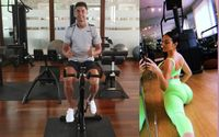 Georgina Rodriguez Steals The Spotlight In The Background As Cristiano Ronaldo Posts A Video Of The Duo Working Out