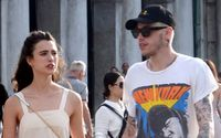 New Couple Pete Davidson & Margaret Qualley Were Photographed Together In Italy