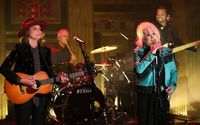 Music Guest Tanya Tucker Performs 'The Wheels of Laredo' With Brandi Carlile For The Tonight Show