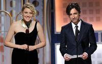 All Eyes on them! Greta Gerwig and Noah Baumbach stuns at the Academy Award Red Carpet