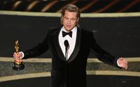Brad Pitt Wins His First Solo Oscar; Dedicates It to All His Kids