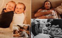 Bode Miller and Wife Morgan Miller Reminisce The Emotional Home Birth of Their Twin Boys