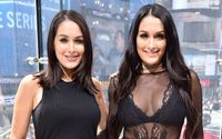 Watch how Brie Bella reacts upon finding Nikki is pregnant too