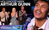 Arthur Gunn Comes with an Incredible Rendition of the 'Have You Ever Seen the Rain' Again! at the Hollywood Week of American Idol