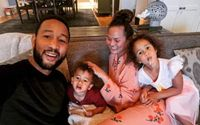 John Legend Shares an Adorable Quarantine Video Alongside His Family