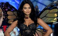Shanina Shaik Shows Off Her Incredible Figure In A Tiny Black Bikini