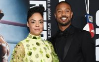 Michael B. Jordan and Tessa Thompson Have Cutest Moment and Perfect Chemistry