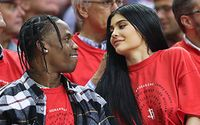 Reality TV Star Kylie Jenner Joined Her Boyfriend Travis Scott on Stage During his Show at NYC's Madison Square Garden
