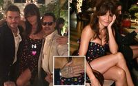 David Beckham Was in Party with Super Model Helena Christensen in Miami