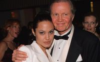 American Actress Angelina Jolie's Complicated Relationship With Her Dad Jon Voight