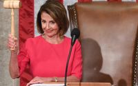 Congresswoman Nancy Pelosi Jokes About Paying $1 For President Trump's Border Wall