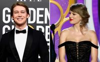 Taylor Swift Makes Surprise Appearance on Golden Globes To Present and Support Boyfriend Joe Alwyn