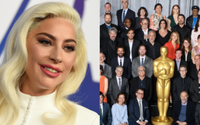 Lady Gaga Steals The Show In Star-Studded Oscar Class Photo