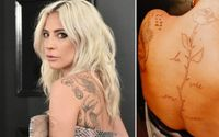 Lady Gaga Fixes The Mistake and Shared Recently Corrected Musical Tattoo