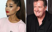 Ariana Grande and Piers Morgan Buried The Hatchet with Dinner Date