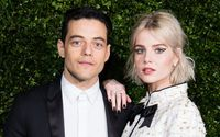 Rami Malek Looked Head Over Heels as he Stepped Out with his Girlfriend Lucy Boynton at Vanity Fair and Genesis' Toast to the Biopic at Cecconi's Restaurant in West Hollywood