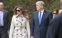 Donald Trump Hits Out At 'Fake Melania' Conspiracy Theory