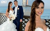 Danielle Lloyd's First Wedding Look