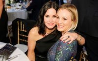 FRIENDS Star Courteney Cox Displays Her Support To Kaley Cuoco As She Cries At The Final Big Bang Theory Table Reading