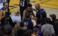 Drama in the NBA Finals As Golden State Warriors Part Owner Mark Stevens Banned for Shoving Kyle Lowry