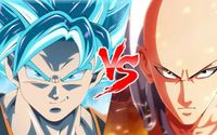 Anime Death Battle! Who'd Win Between One Punch Man' Saitama and Dragon Ball' Goku