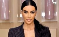 Kim Kardashian Displays Flawless Figure In An Eye-popping Ensemble of Matching Hoodie and Skintight Leggings