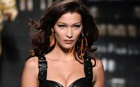 Bella Hadid Commanded Attention On The Runway at the Philosophy Di Lorenzo Serafini Show during Milan Fashion Week