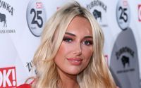Amber Turner Flaunted Her Incredible Curves In Double Denim On Girls' Night Out