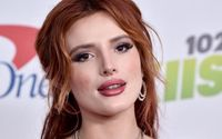 Bella Thorne Flaunted Her Figure In Slinky Black Bikini