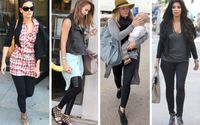 How to Wear Leggings Like a Celebrity in This Winter