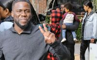 Kevin Hart Enjoys Family Lunch In Los Angeles As He Thanks Fans For Supporting 'The Upside'
